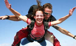 Skydiving in Atlanta