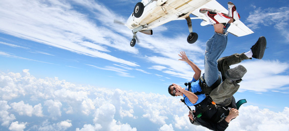 Tandem Skydiving in Atlanta